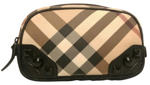 Burberry Burberry Nova Check Metal Studs Cosmetic Pouch