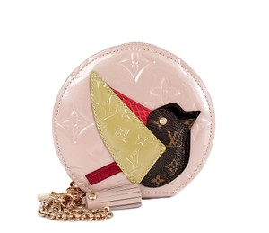 Louis Vuitton Animania Vuitton Animania Vuitton Coin Vuitton Bird Wristlet in Red