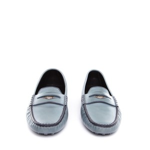 Tod's turquoise Flats