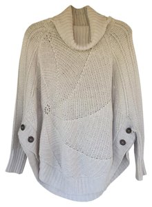 Anthropologie Cabled Boucle Sweater