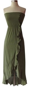 Green Maxi Dress by Mudd