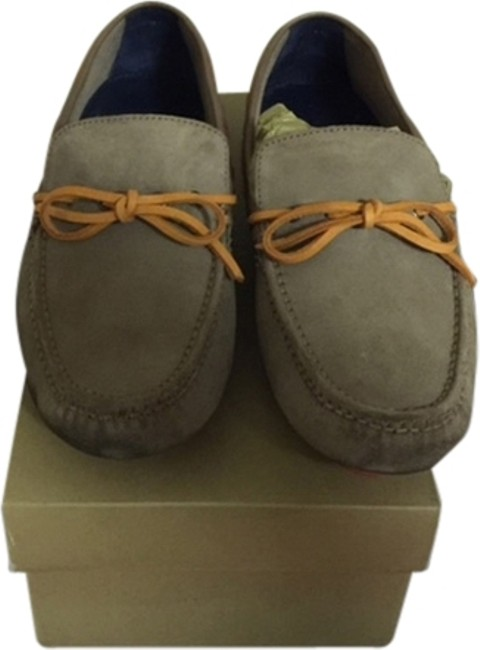 Item - Ginger Suede /Orange Air Grant Lace Driving Loafer Formal Shoes Size US 9