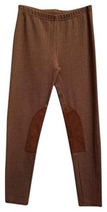 Ralph Lauren Tweed Machine Washable Polyester Elastic Herringbone Tweed Leggings