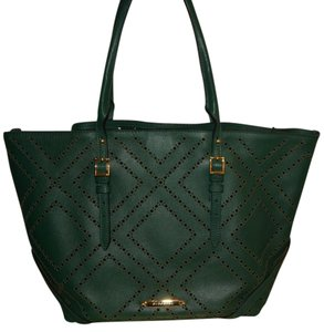 Burberry Purse Tote in Green
