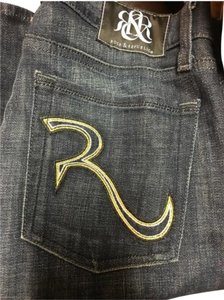 Rock & Republic Bling Boot Cut Jeans-Distressed