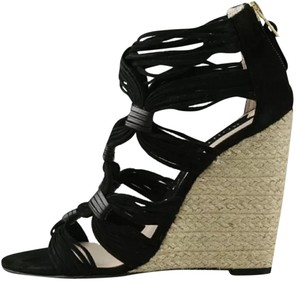 Boutique 9 Black suede Wedges