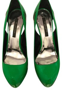 Ruthie Davis Green Pumps