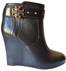 Tory Burch BLACK, GOLD Wedges