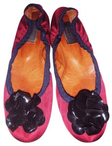 Lanvin RED / BLACK Flats