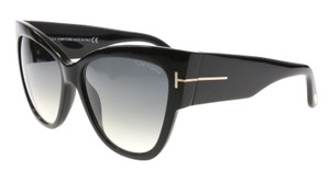 Tom Ford Tom Ford Sunglasses Women Cat eye TF 371 Black 01B Anoushka 57mm