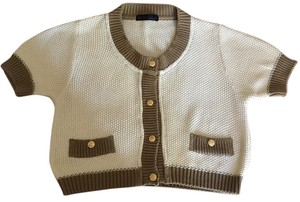 Peter Murray Cropped Cardigan