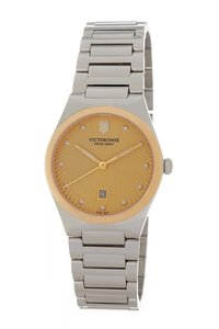 Victorinox Victorinox Swiss Army Victoria Gold Watch 241637