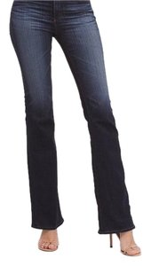 AG Adriano Goldschmied Designer Stretch Boot Cut Jeans-Dark Rinse