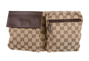 Gucci Monogram Cross Body Bag