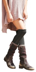 Free People Sierra Crest Embroidered Sz 40 Five Star Boots