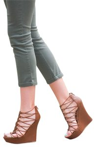 Bamboo Brown Wedges