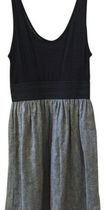 Metropark short dress Black/gray on Tradesy