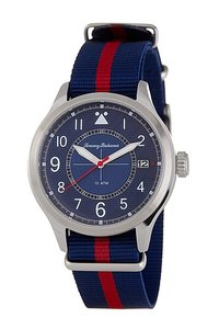 Tommy Bahama Tommy Bahama Men's Island Scout Canvas Strap Watch