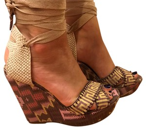 Theodora & Callum Tan Wedges