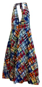 J.Crew short dress Madras Plaid on Tradesy