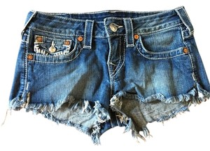 True Religion Cut Off Shorts jean
