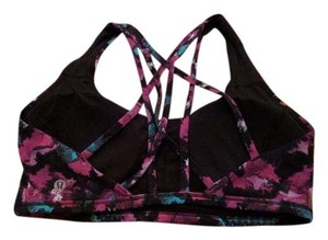 Lululemon Lululemon Free to be Tranquil Bra, Midnight Bloom, Size 8