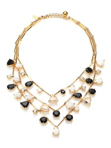Kate Spade Kate Spade Twinkle Lights Necklace NWT Three Tiers of Gentle Gems