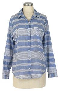Anthropologie Button Down Shirt blue