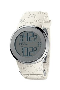Gucci GUCCI I- Digital White Watch YA114403