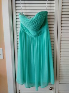 Donna Morgan Spearmint Sarah Dress