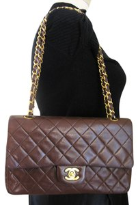 Chanel 2.55 Classic Double Flap Tote in brown