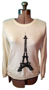 Elle Eiffel Tower Pullover Sweater