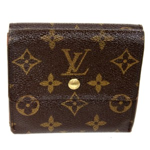 Louis Vuitton Louis Vuitton Monogram Porte Tresor Elise Sarah Tri Fold Luxury Wallet