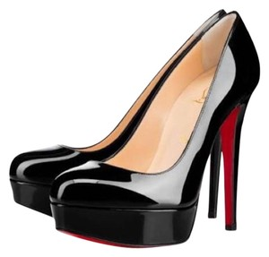 Christian Louboutin Red Soles Stiletto Black Platforms