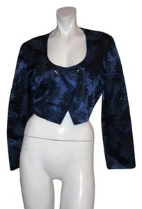 Byblos Cardigan Made In Italy BLUE Blazer