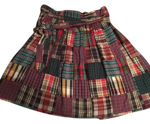 Marc by Marc Jacobs Skirt Maroon Red Multi