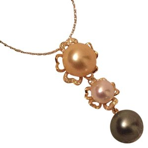 Southern Sea Pearl With 18k Gold