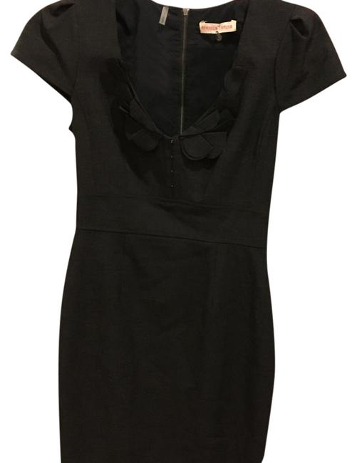 Preload https://img-static.tradesy.com/item/20052715/rebecca-taylor-charcoal-grey-above-knee-workoffice-dress-size-2-xs-0-1-650-650.jpg