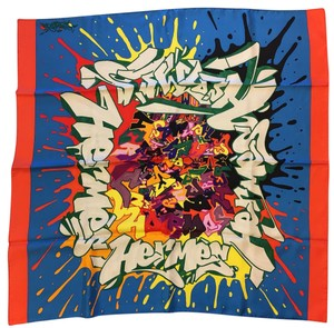 Hermès Hermes Fall/Winter 2011 silk twill carre scarf design by Kongo