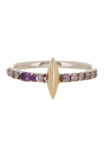 Preload https://img-static.tradesy.com/item/20052754/alexis-bittar-14k-gold-and-sterling-silver-marquis-size-6-ring-0-0-540-540.jpg