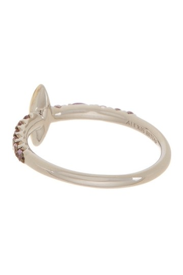 Alexis Bittar Alexis Bittar 14K Gold & Sterling Silver Marquis Ring - Size 6 Image 1