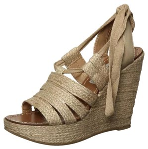 Steve Madden Natural fabric Wedges