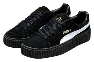 Puma Rihanna Fenty Black Creeper BLACK/ WHITE Athletic