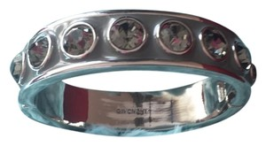 Givenchy Tournel Gray Enamel Bangle