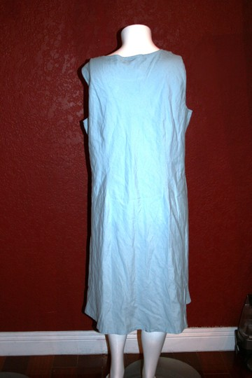Talbots BLUE Woman Sleeveless Size 22w Dress 80%OFF