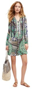 Tiny short dress Green Anthropologie Shirt on Tradesy