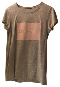 Zara T Shirt Grey/pink
