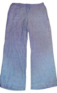 INC International Concepts Wide Led Wide Leg Pants Sea blue
