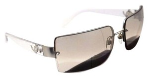 Chanel CHANEL Sunglasses Transparent Silver \Light Grey/Beige