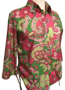 Pappagalo Top Multi pink